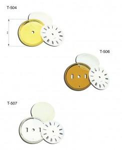 T-504,T504,T-505,T505,T-506,T506,T-507,T507,conjunto,bisel,esfera,cristal,