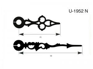 agujas,metalicas,especiales,u1952n,u 1952 n,u-1952-n