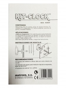 kit,clock,kit-clock,kit clock,instrucciones,manual