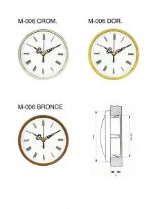 M006,M-005-6,CROM,BRONCE,DOR,cromado,bronce,dorado